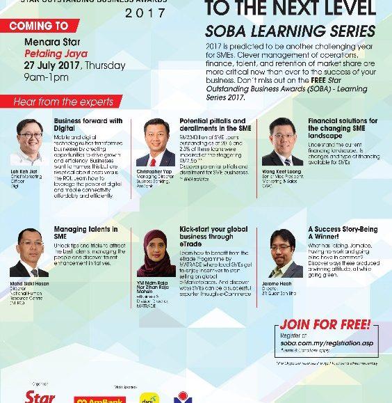 SOBA 2017: Learning Series – Petaling Jaya