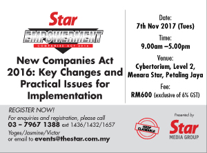 All about the New Companies Act 2016: Key Operations and Implementations