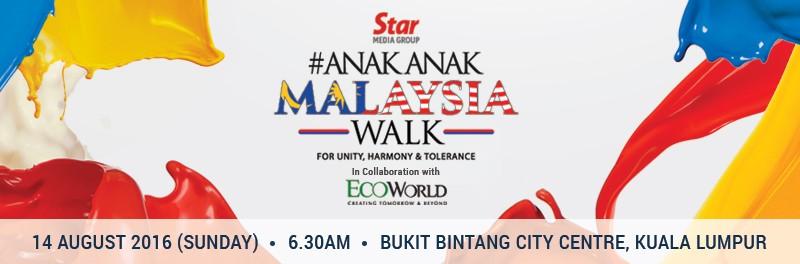 Anak Anak Malaysia Walk