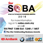 Star Outstanding Business Awards 2016 (SOBA)