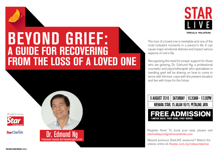 StarLIVE – Beyond Grief: A Guide For Recovering From The Loss of A Loved One