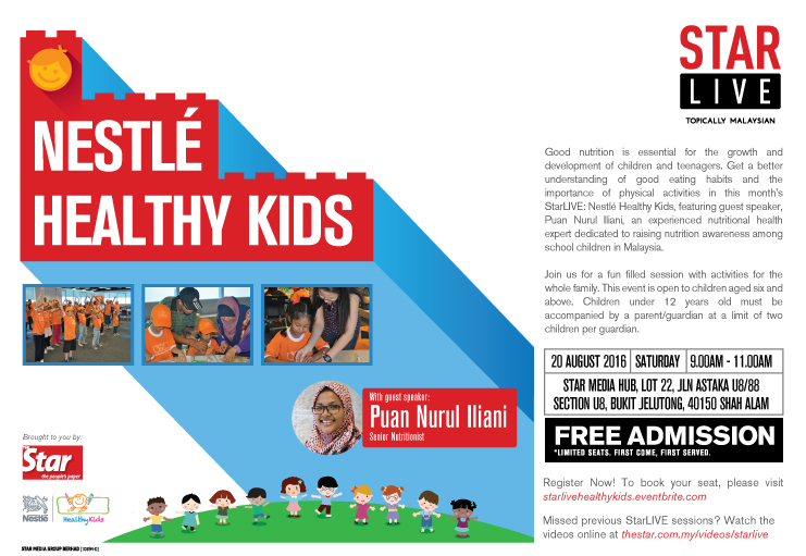 StarLIVE : Nestle Healthy Kids