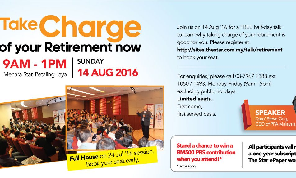Take Charge of Your Retirement Now!