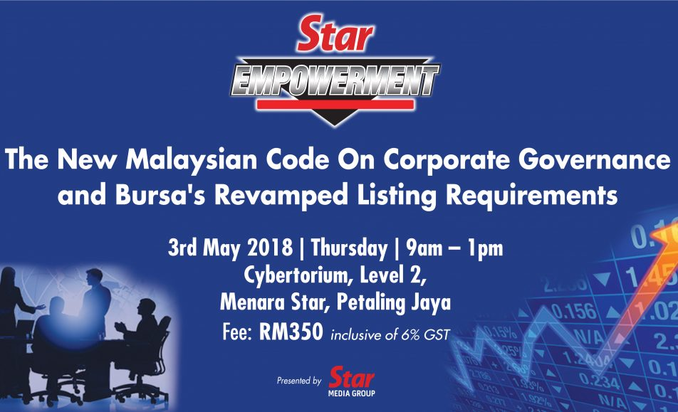 The New Malaysian Code of Corporate Governance and Bursa's Revamped Listing Requirements