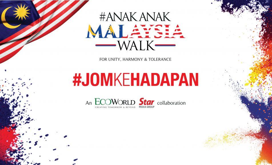 #AnakAnak Malaysia Walk 2018