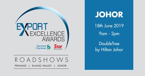 Export Excellence Awards 2019 Roadshow : Johor Bahru