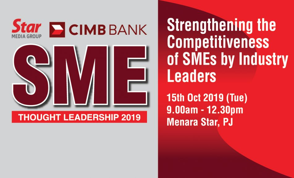 SME Thought Leadership : Strengthening the Competitiveness of SMEs by Industry Leaders